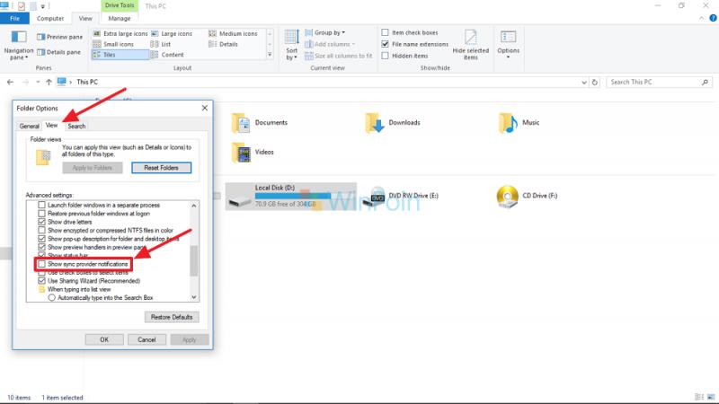 Beginilah Cara Menghilangkan Iklan di File Explorer Windows 10