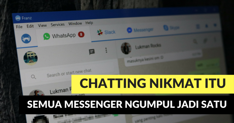 Inilah 3 Aplikasi Chat Terbaik untuk Windows — Semua Messenger Ngumpul Jadi Satu!