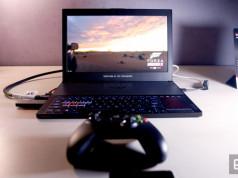 ASUS Menjejalkan GPU GTX 1080 di Laptop Gaming Super Tipis Ini