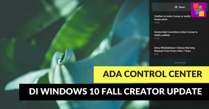 Tampilan Baru Control Center Windows 10 Bocor — Kini Terpisah!