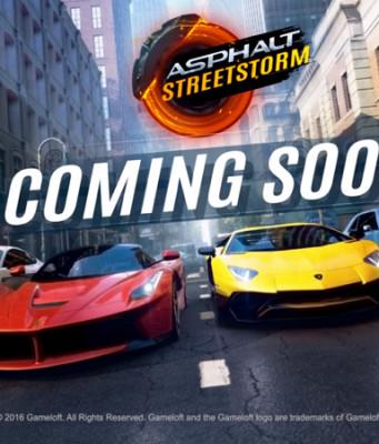 Ayo Registrasi, Game Asphalt Street Storm Racing Segera Dirilis!