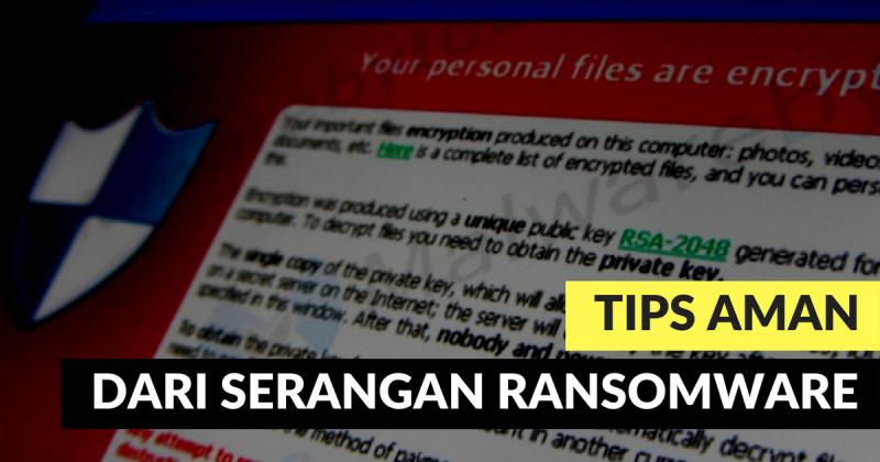 5 Tips Melindungi Komputer dari Ransomware