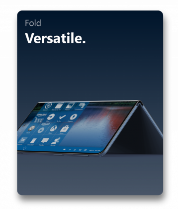 Inilah konsep Surface Mobile terbaru — Semakin Liar!