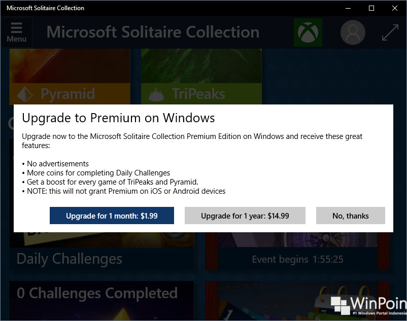 Cara Memainkan Game Klasik Windows XP di Windows 10 (1)