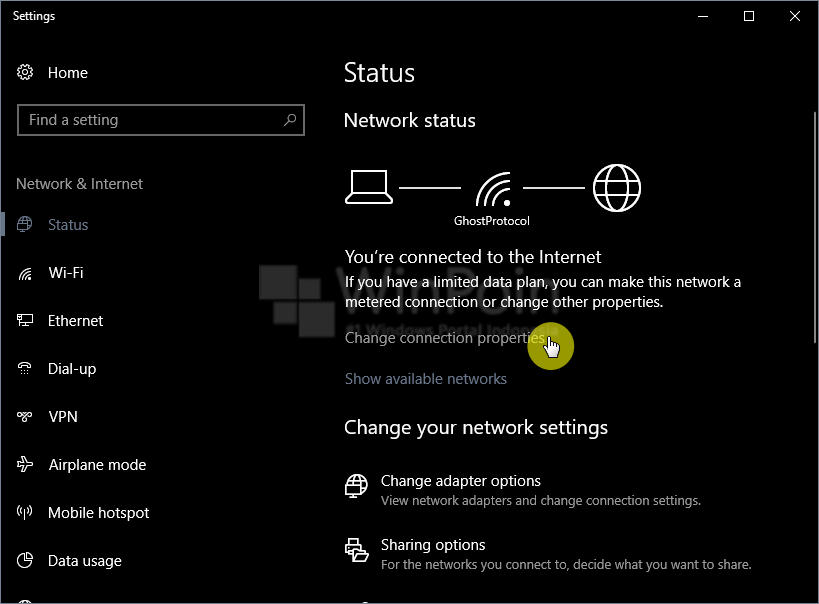 Cara Membuat Metered Connection di Windows 10 (1)