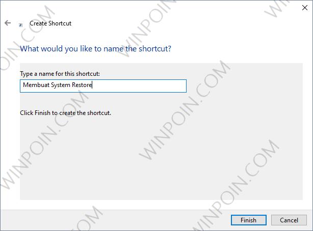 Cara Membuat Restore Point di Windows 10 Dengan Double Klik (3)