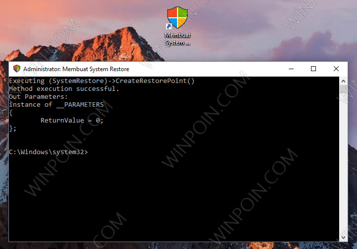 Cara Membuat Restore Point di Windows 10 Dengan Double Klik (7)