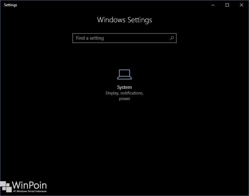 Cara Menyembunyikan Halaman Settings di Windows 10 (5)