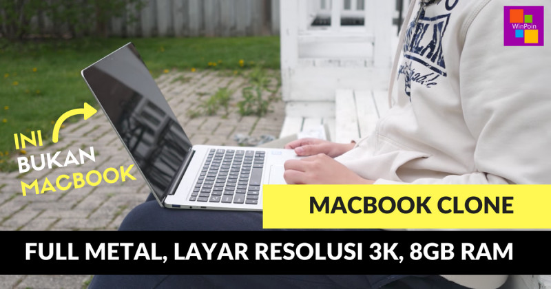 3 Laptop Windows dengan Desain Mirip MacBook