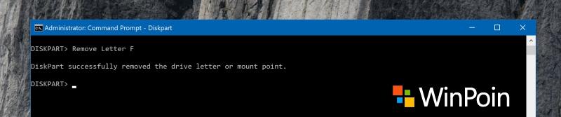 Cara Cerdik Menyembunyikan Partisi Apapun di Windows Melalui CMD