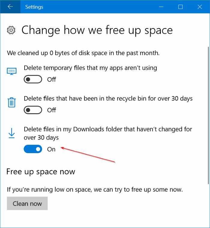 Cara Menghapus File Pada Folder Download Secara Otomatis