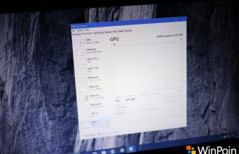 Microsoft Menanamkan GPU Monitor di Task Manager Windows 10