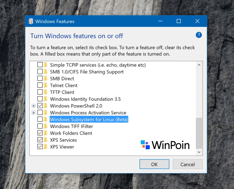 Cara Uninstall Bash Linux di Windows 10