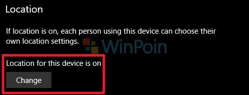 Cara Mengatur Penggunaan Lokasi di Windows 10