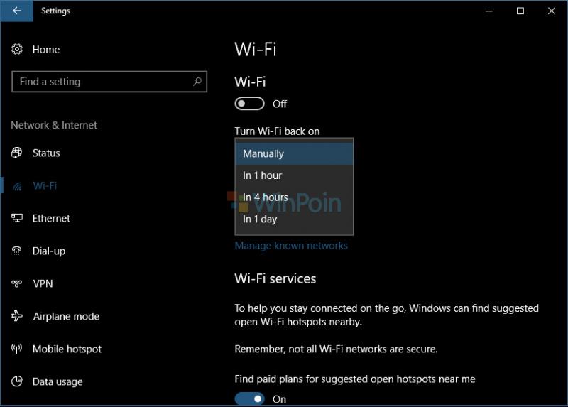 Cara Mengaktifkan Wifi Secara Otomatis di Windows 10
