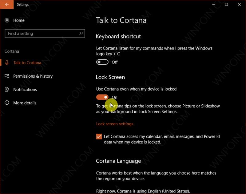 Cara Mematikan Windows 10 dengan Cortana