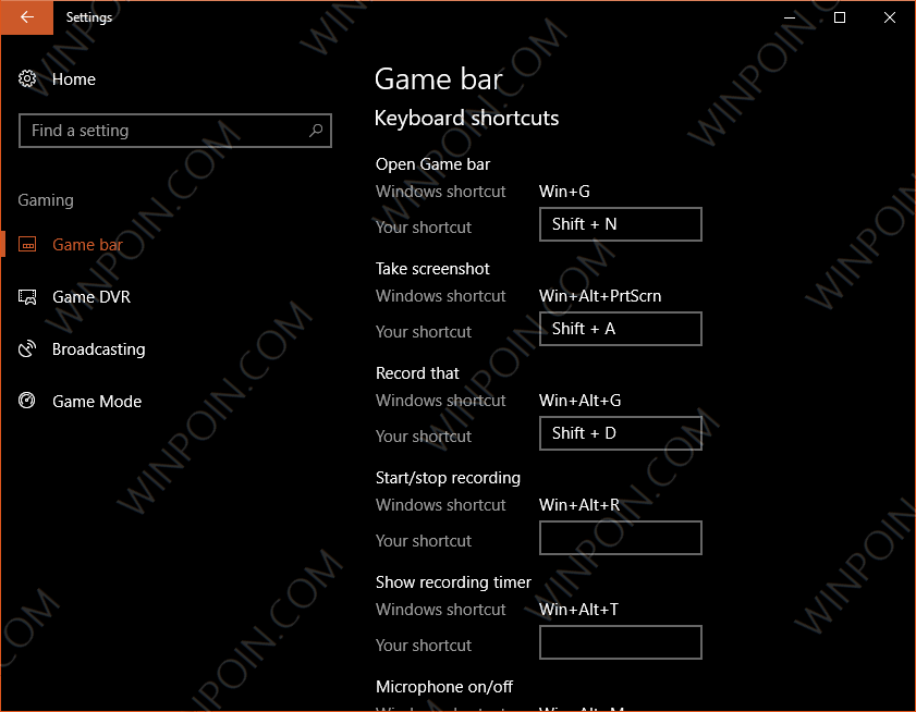 Cara Membuat Shortcut Sendiri pada Game Bar di Windows 10 (3)