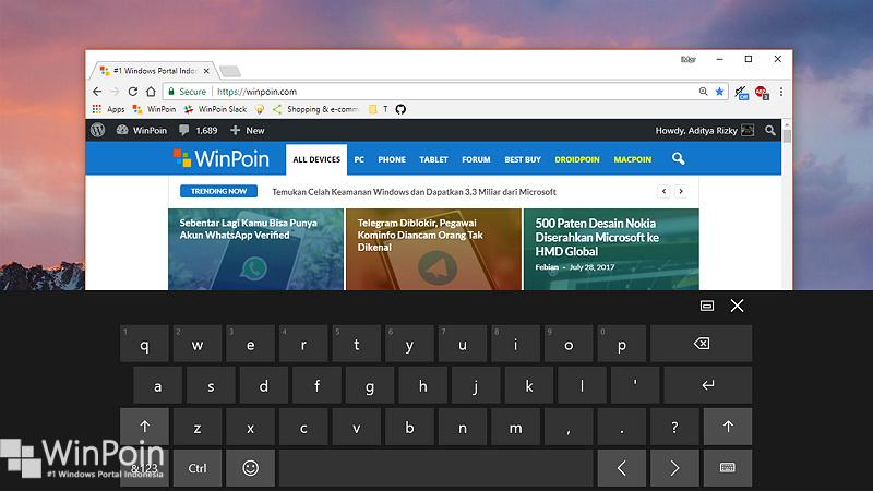 Cara Memunculkan Virtual Keyboard Secara Otomatis di Windows 10 (1)