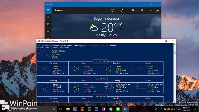 Cara Mendapatkan Laporan Cuaca Melalui PowerShell (1)