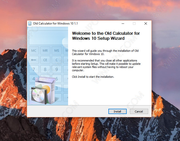 Download Kalkulator Klasik ala Windows 7 di Windows 10 (2)