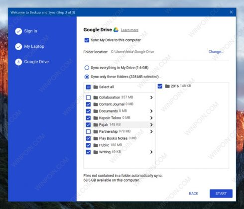 Cara Backup Isi Komputer ke Cloud dengan Google Backup & Sync