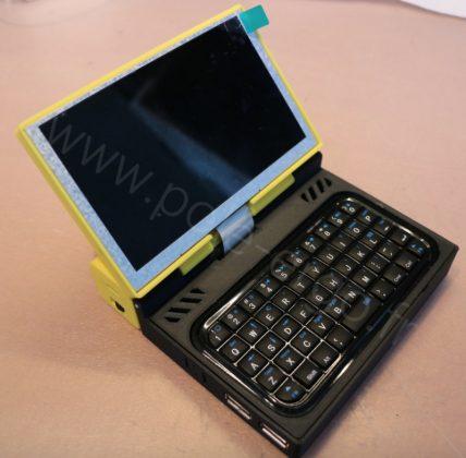 Membuat Sendiri Laptop Mini yang Bisa Dikantongin