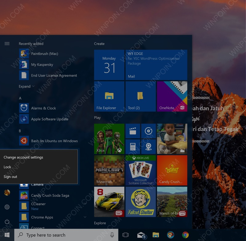 Cara Mematikan Fitur Fast User Switching di Windows