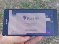 Kemunculan Microsoft Paint 3D di Windows 10 Mobile