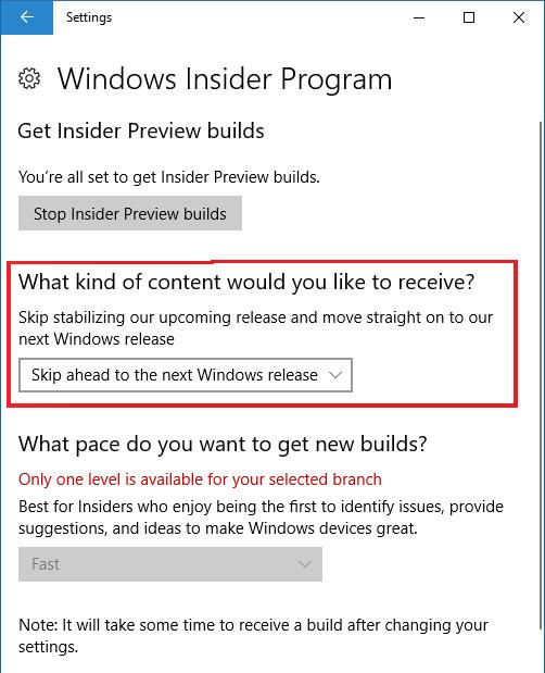 Microsoft Izinkan Insider untuk Bisa Beralih ke Build Redstone 4!
