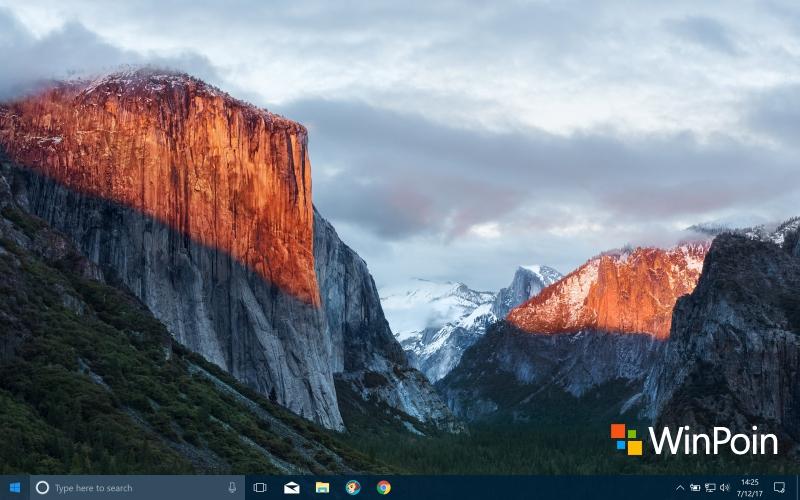 Pake Wallpaper macOS di PC / Laptop Windows, Mau?