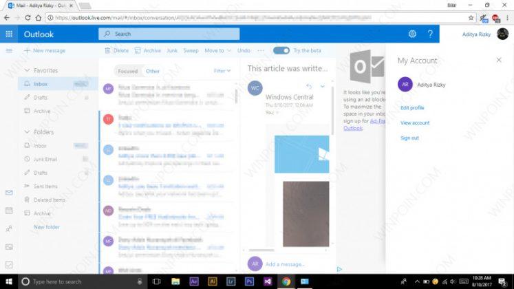 Begini Cara Menggunakan Design Outlook.com Terbaru (5)