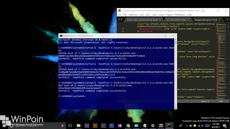 Cara Cek Keaslian File di Windows dengan Command Prompt (1)