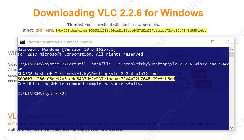 Cara Cek Keaslian File di Windows dengan Command Prompt (3)