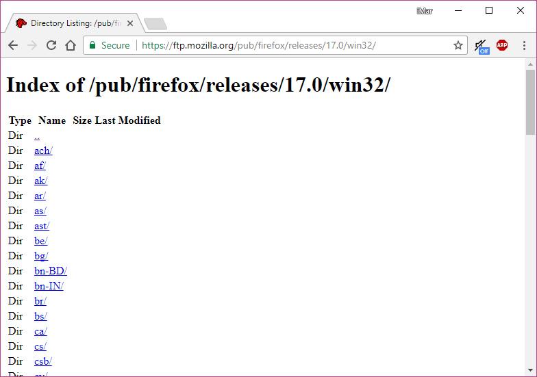 Cara Download Semua Versi Browser Mozilla Firefox (6)