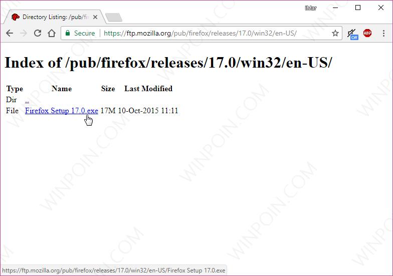 Cara Download Semua Versi Browser Mozilla Firefox (7)
