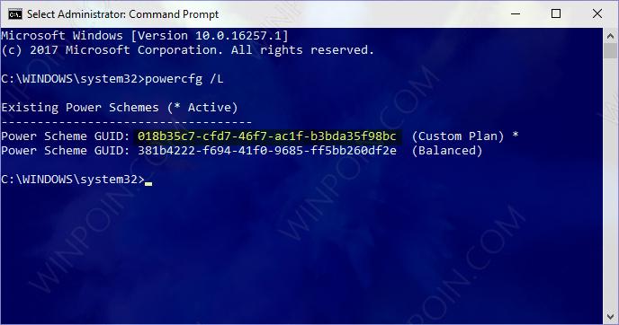 Cara Export Power Plan di Windows 10 (1)