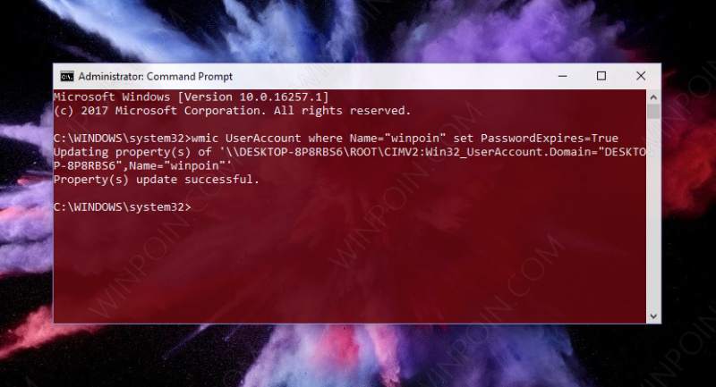 Cara Memberikan Password Expiration di Windows 10