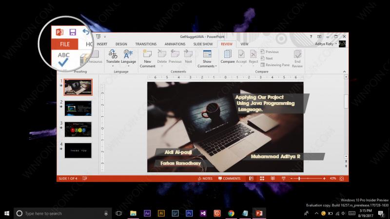 Cara Menampilkan Thumbnail pada File Office Word, Excel dan PowerPoint (2)