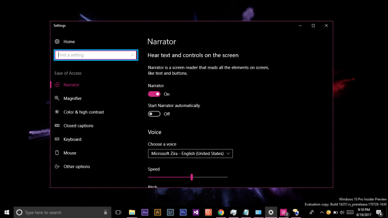 Cara Mengaktifkan Narrator di Windows 10 (1)
