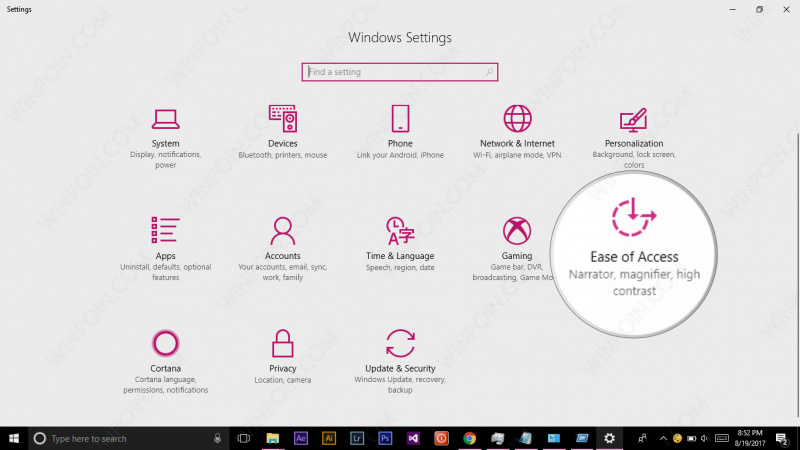 Cara Mengaktifkan Narrator di Windows 10 (2)