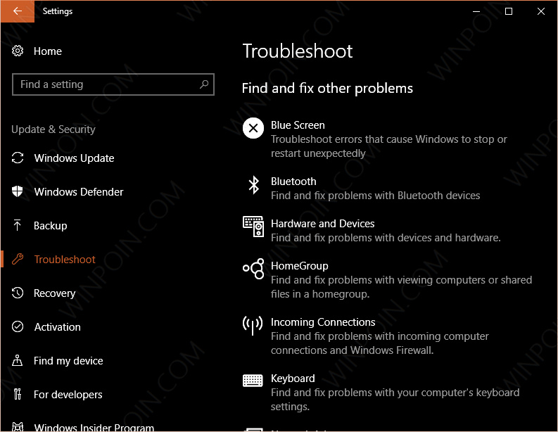 Cara Mengatasi Berbagai Masalah di Windows 10 dengan Tool Troubleshooters (1)