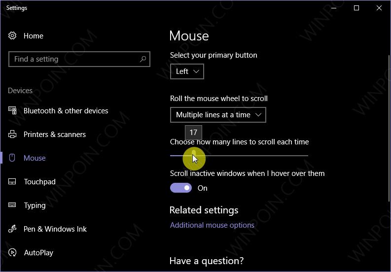 Cara Mengatur Kecepatan Scroll Mouse di Windows 10 (2)
