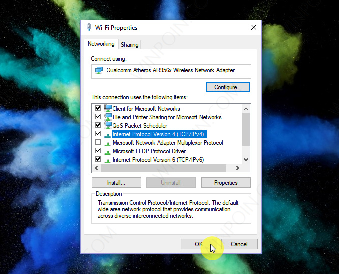 Cara Mengganti Alamat DNS Server di Windows 10 (5)