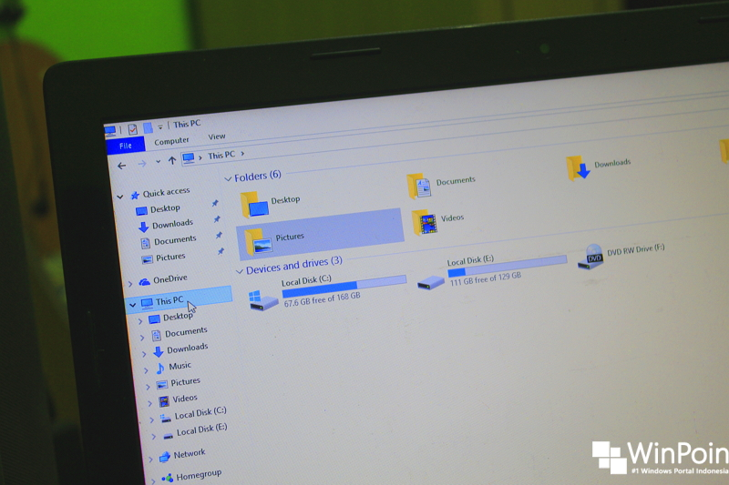 Cara Mengganti Lokasi Penyimpanan Personal File di Windows 10 (1)