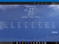 Cara Mengganti Satuan Suhu Pada Aplikasi Weather Windows 10 (1)