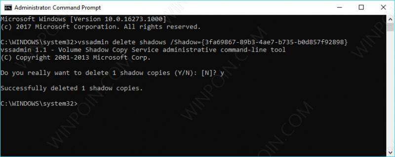 Cara Menghapus System Restore Point di Windows 10 (7)