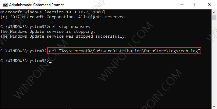 Cara Menghapus Windows Update History Windows 10 (2)
