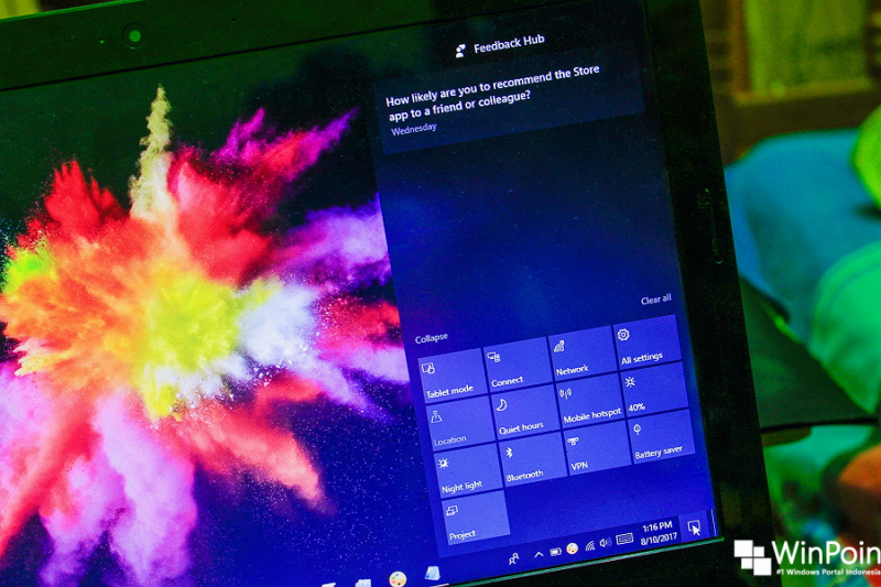 Cara Menghilangkan Action Center di Windows 10 (1)