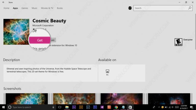 Cara Menginstall Tema di Windows 10 Melalui Store (5)