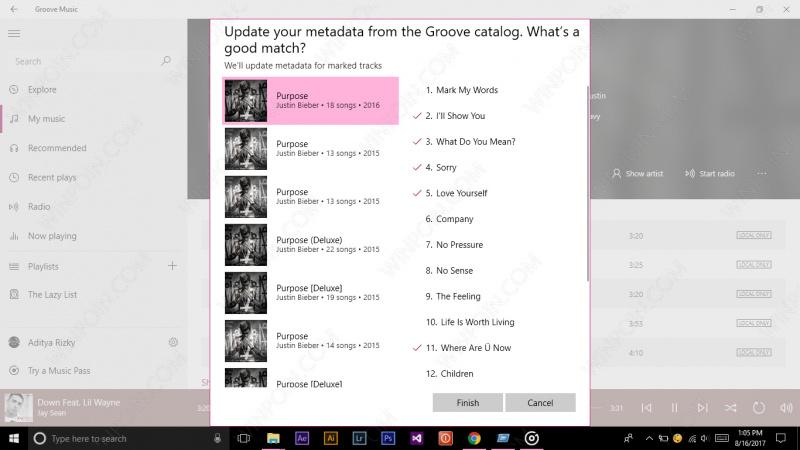 Cara Mengubah Metadata Lagu dengan Groove Music (6)